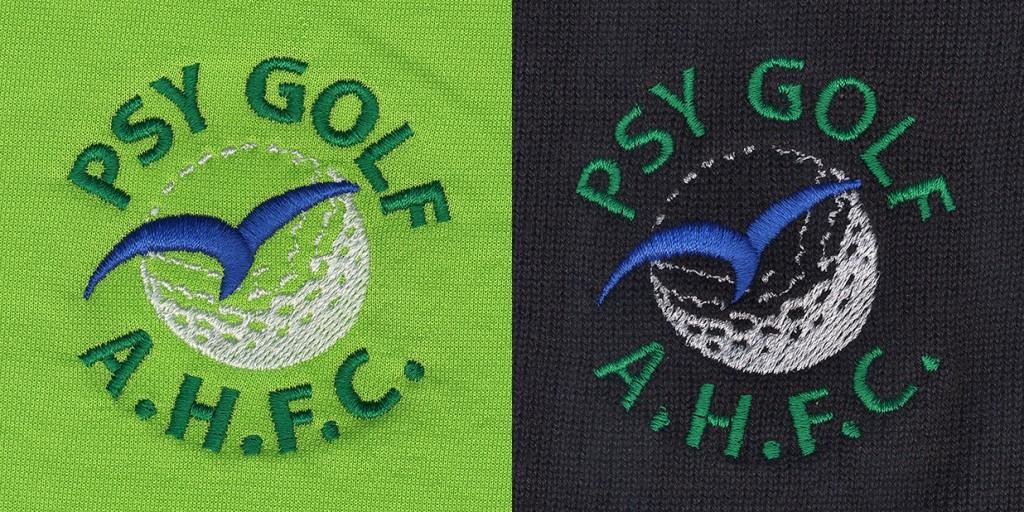 AHFC Psy Golf broderies