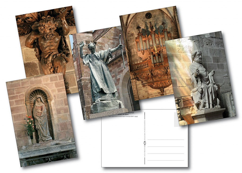 Abbaye Saint Colomban cartes postales