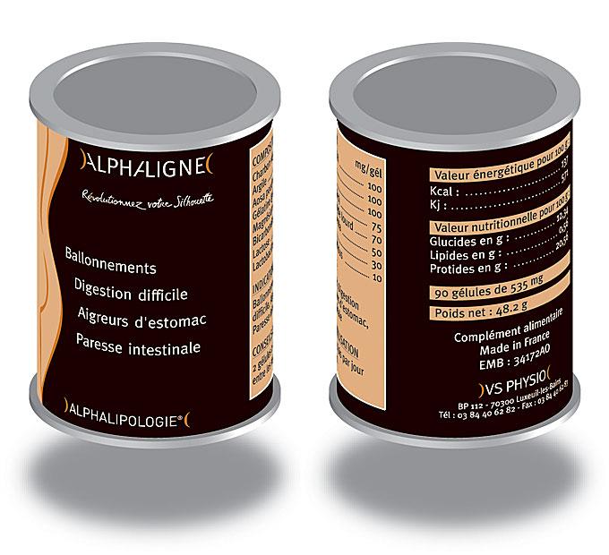 AlphaLigne pilulier etude