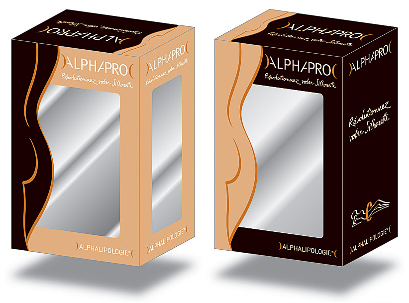 AlphaPro packaging etude
