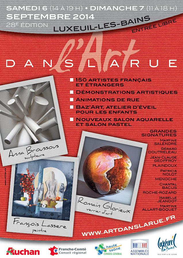 ArtDansLaRue 2014 affiche