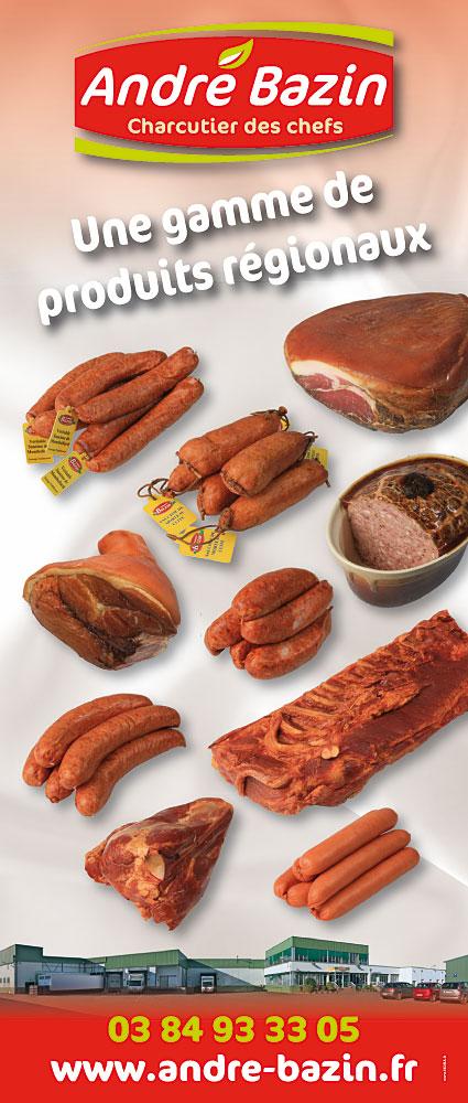 Bazin PLV produits regionaux