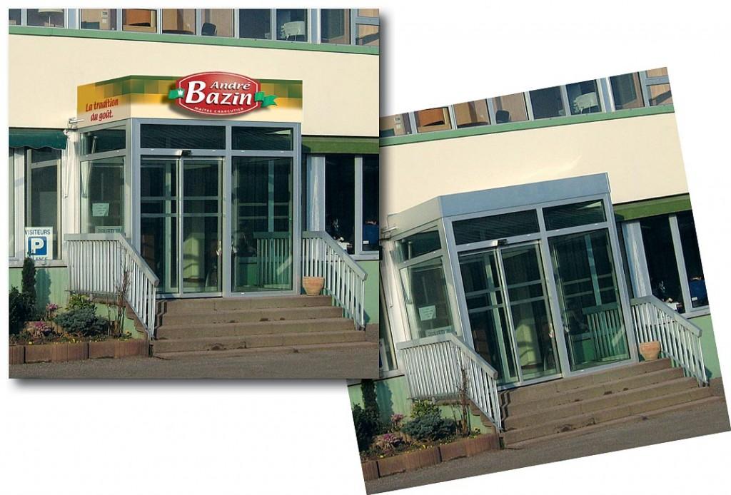 Bazin enseigne bureaux