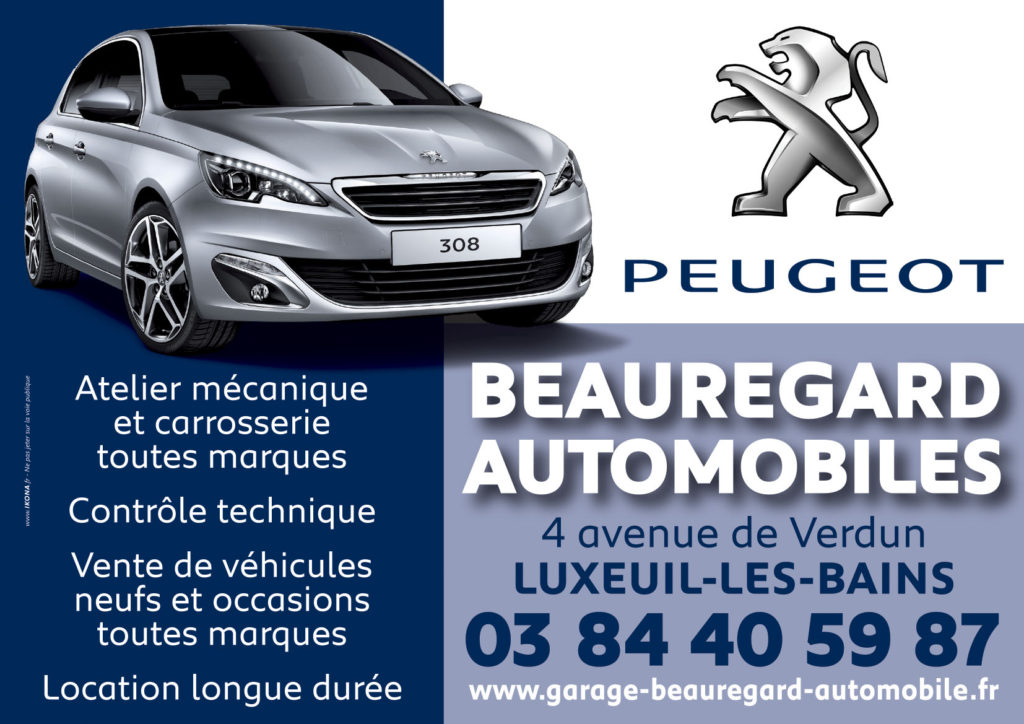 Beauregard Autos flyer A5