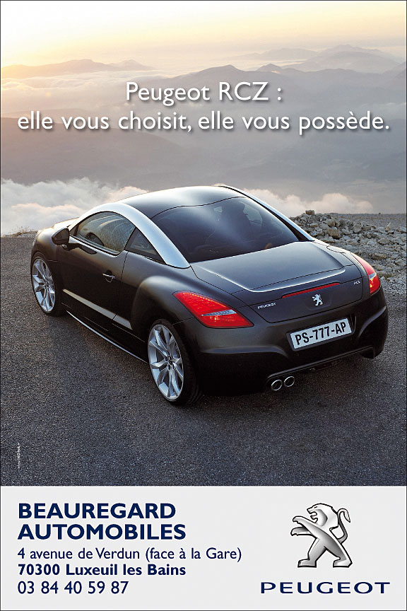 BeauregardAutos PLV RCZ