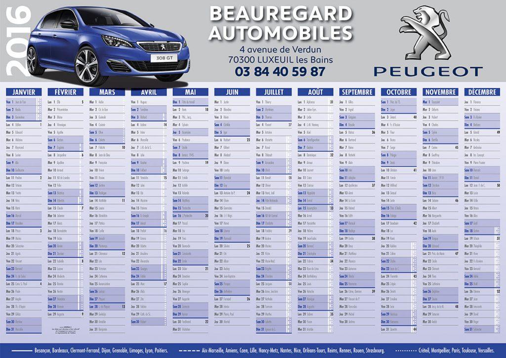BeauregardAutos calendrier 2016