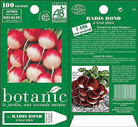 Botanic sachet bio 1