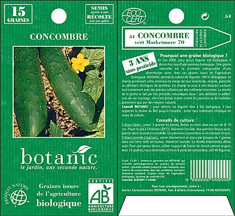 Botanic sachet bio 2