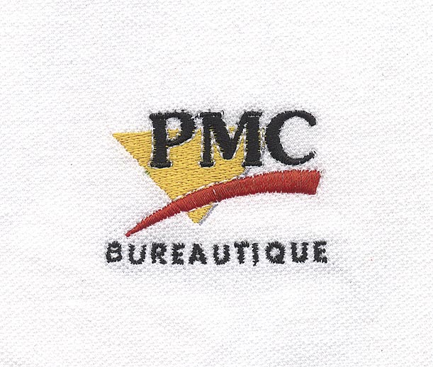 Broderie polo Pmc