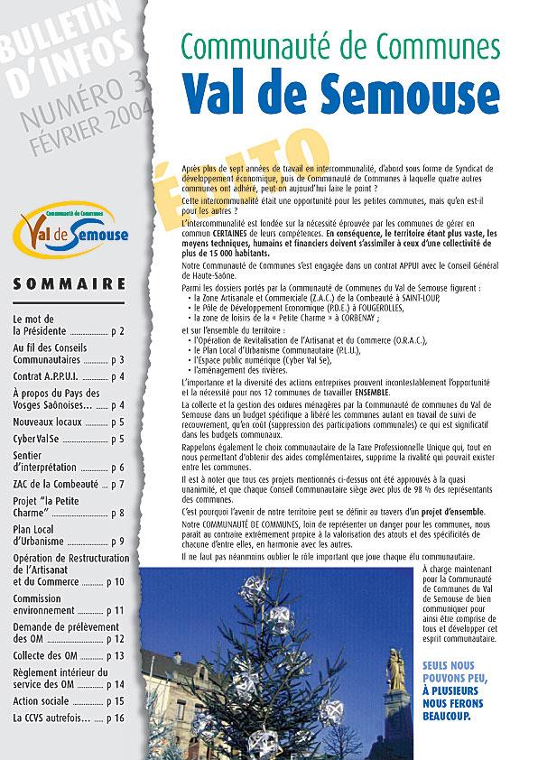 CCVS bulletin Num3