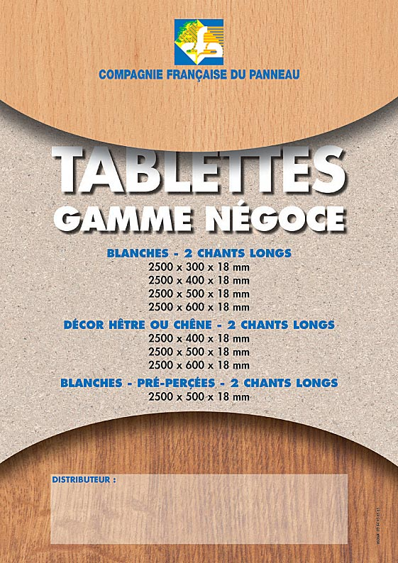 CFP fiche tablettes negoce