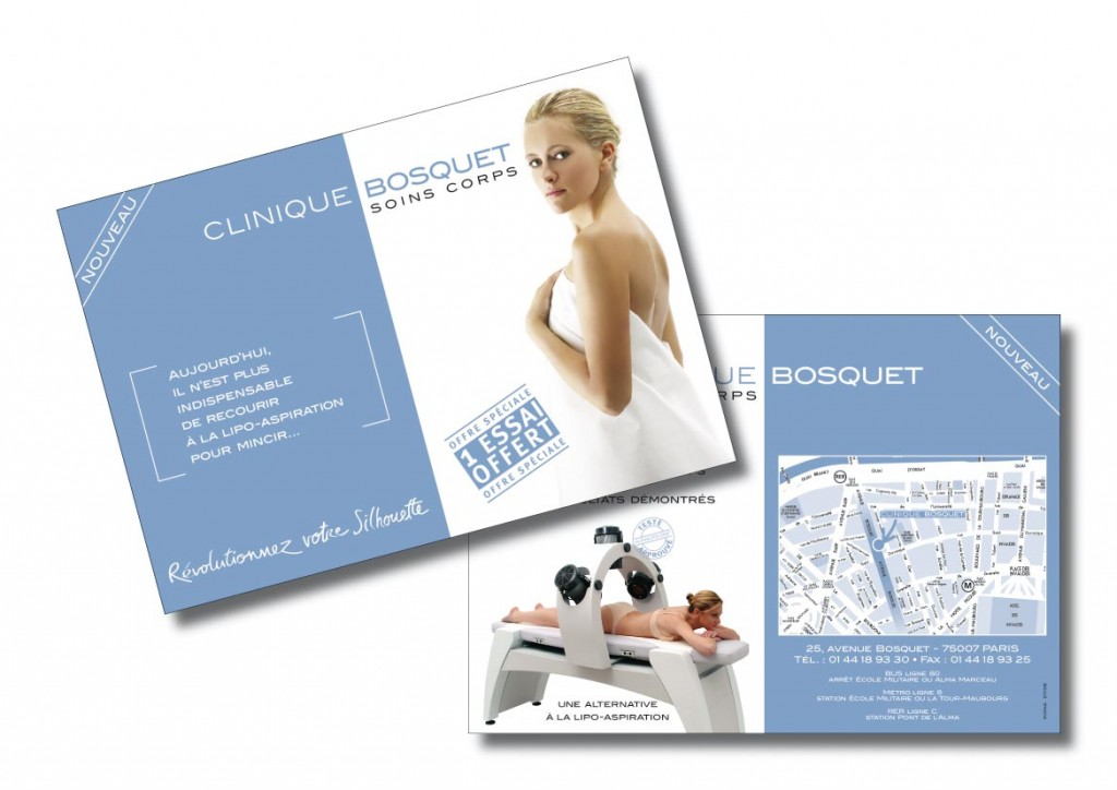 Clinique Bosquet flyer A5RoVo