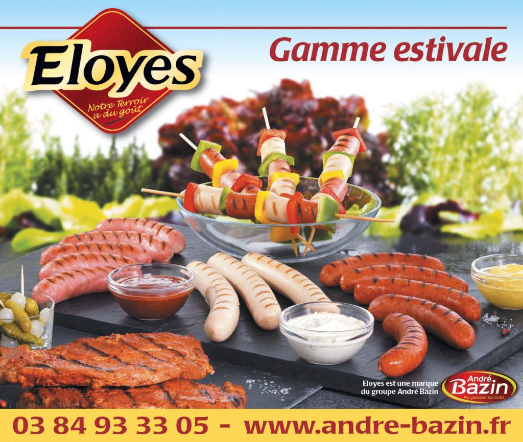 Eloyes Bazin encart 162x137mm