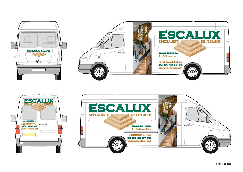 Escalux deco Sprinter