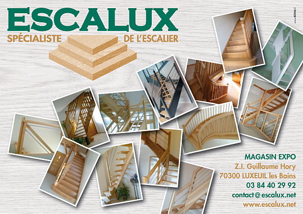 Escalux flyer A5