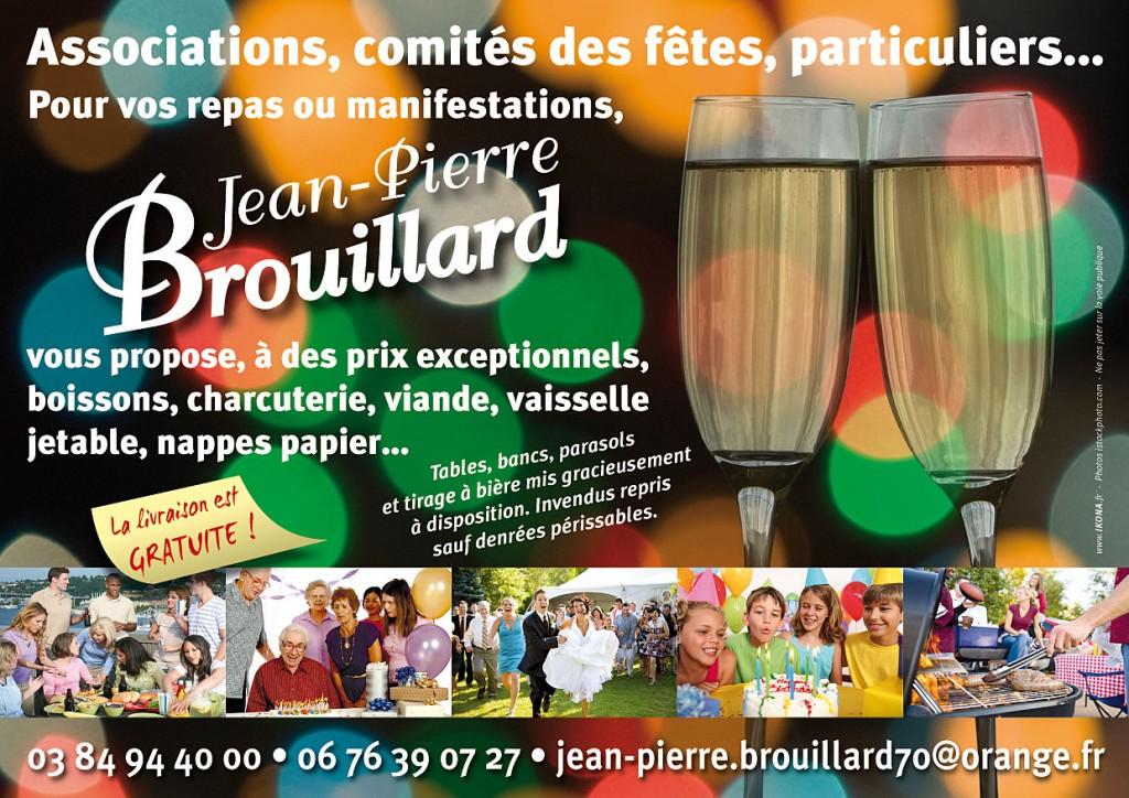 JP Brouillard flyer A5