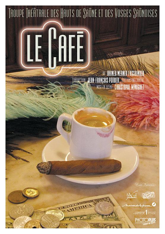 LeCafe affiche A3