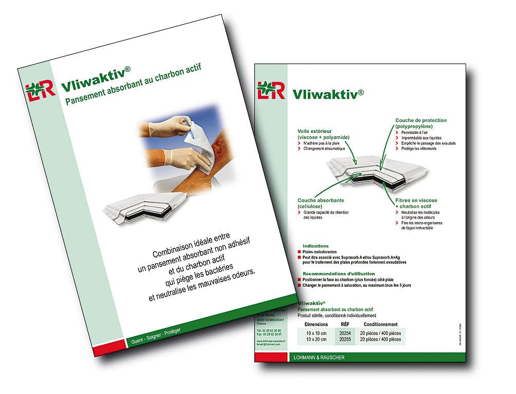 Lohmann&Rauscher fiche Vliwaktiv A4