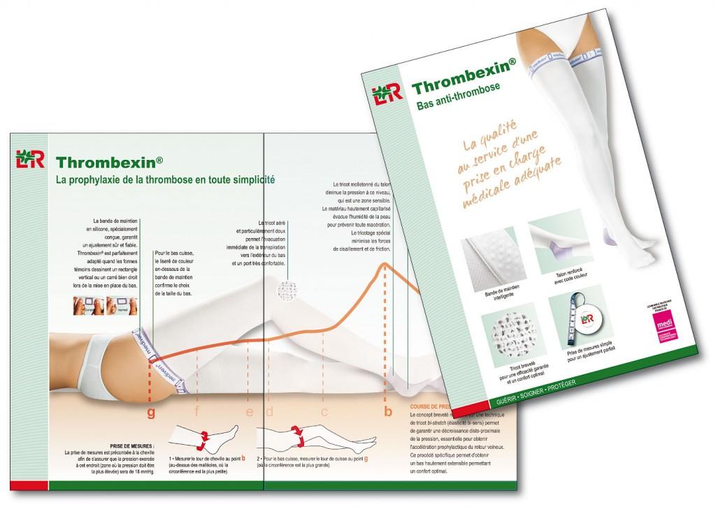 Lohmann&Rauscher plaquette Thrombexin 4pA4