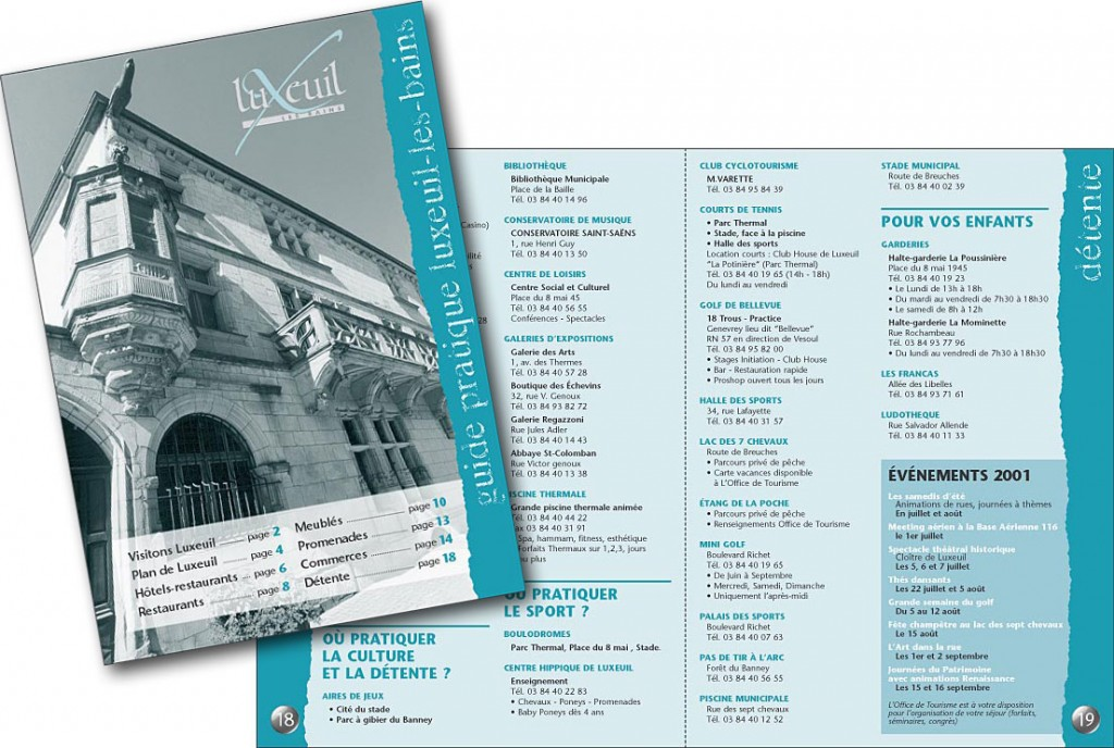 Luxeuil Guide 2001