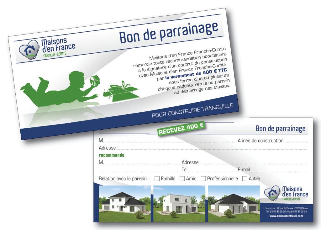 MDF bon parrainage 210x100