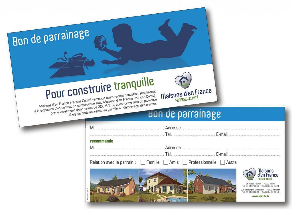 Maisons d'En France bon parrainage