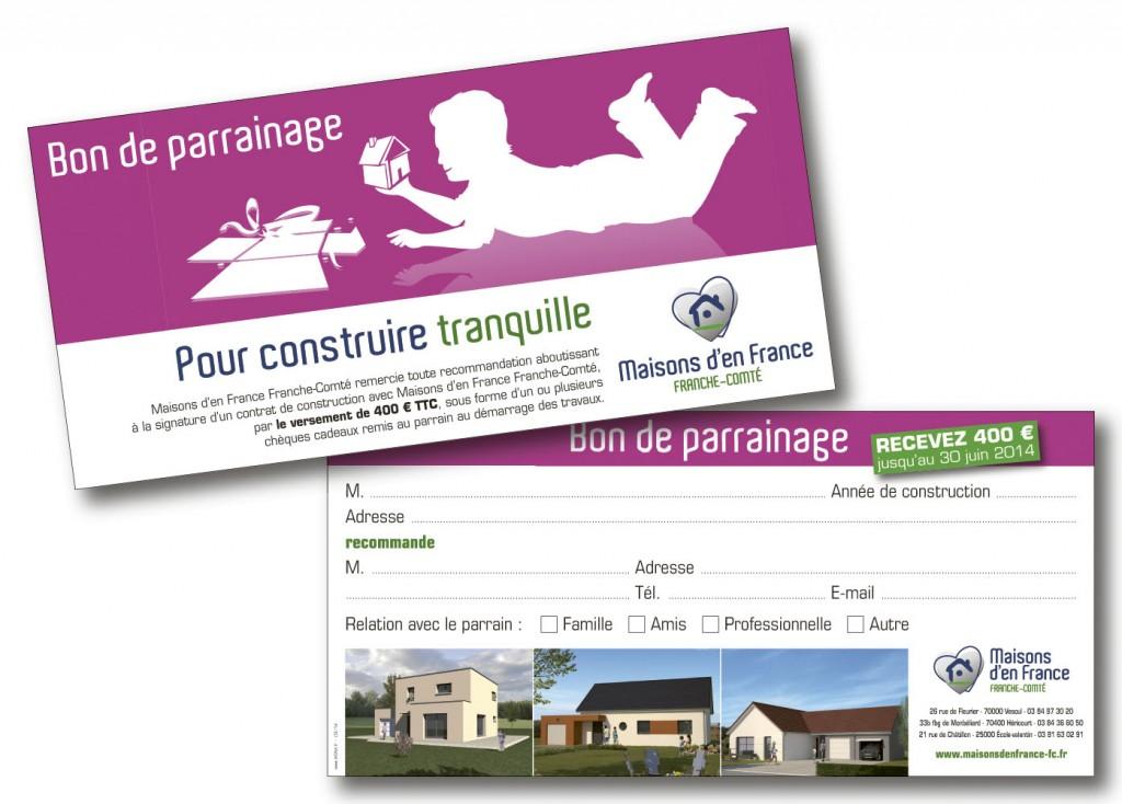 Maisons d'En France bon parrainage 2