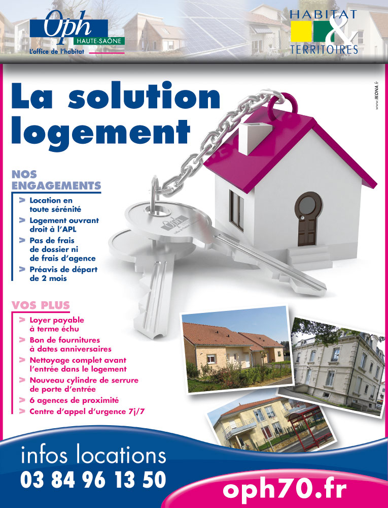 OPH70 H&T encart solution logement
