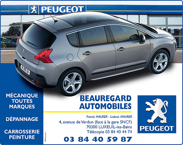 Peugeot pages jaunes 2009