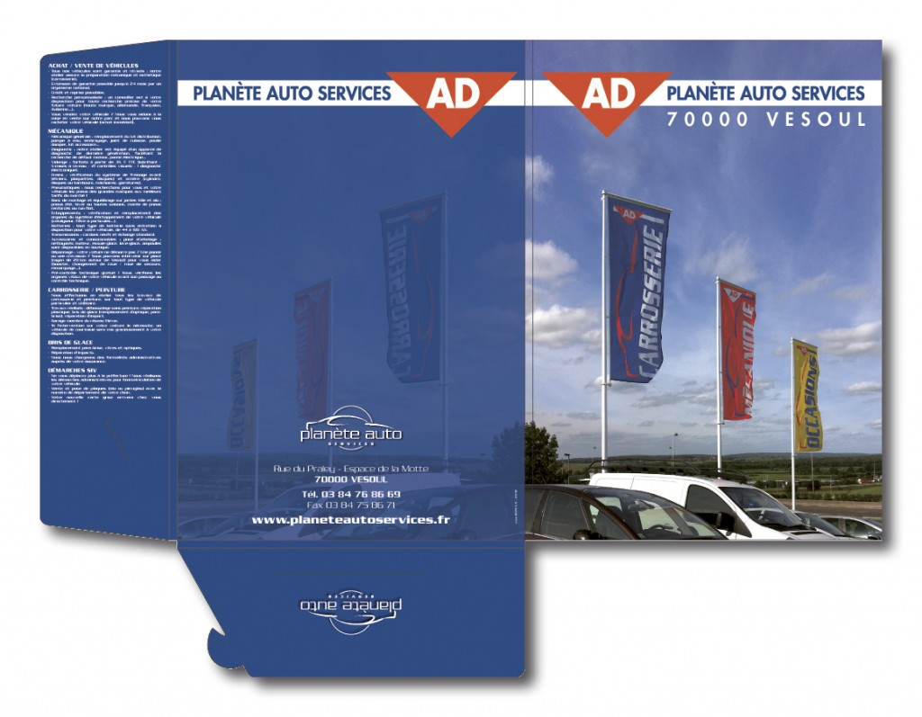 Planète Auto Services pochette