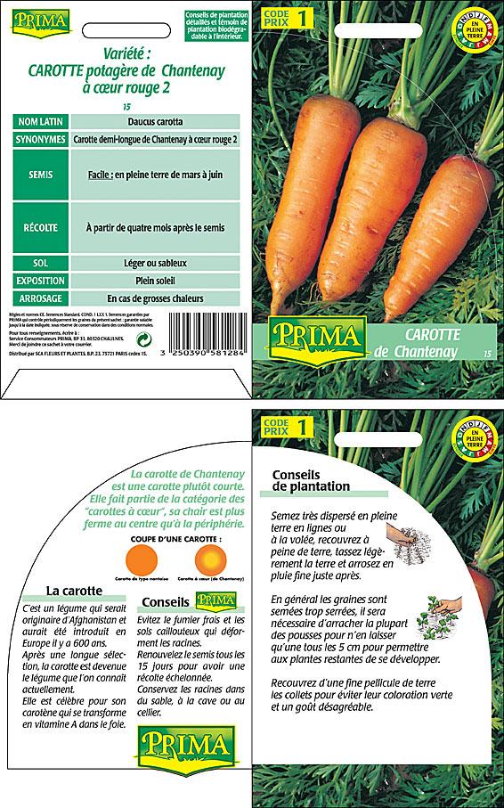 Prima sachet carotte