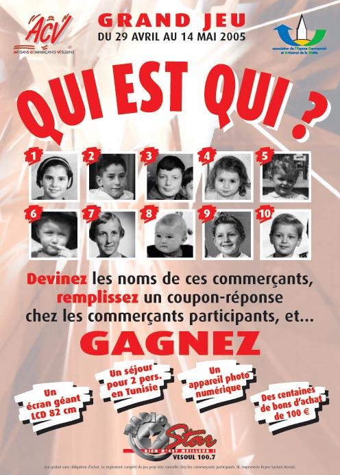QuiEstQui affiche 50x70