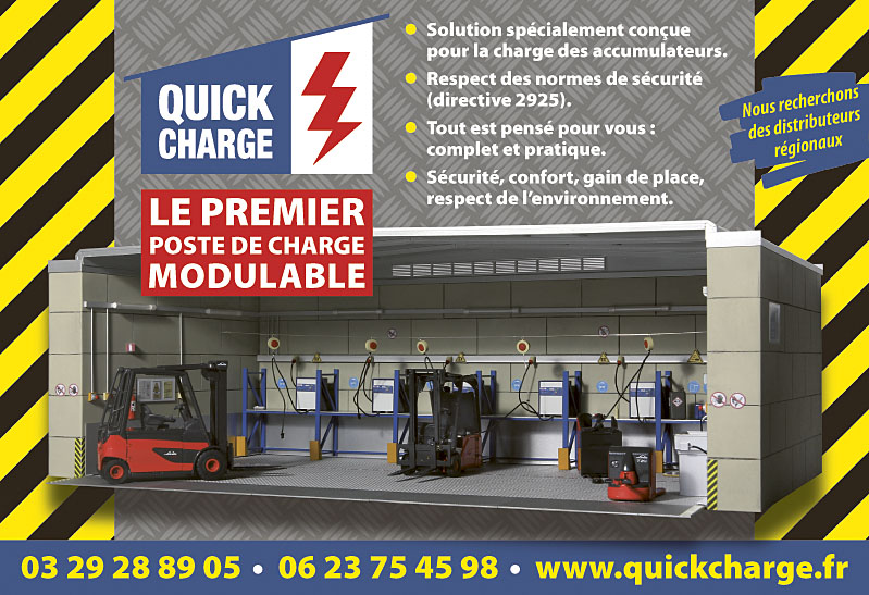 Quick Charge encart 190x130mm