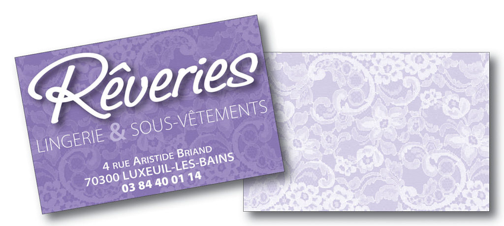 Rêveries carte 85x55