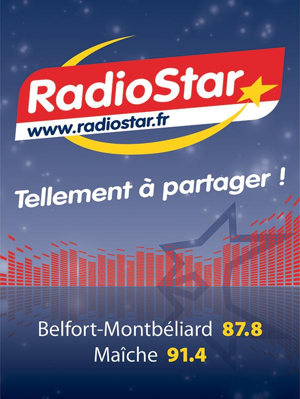 Radio Star aff 60x80cm fréquences