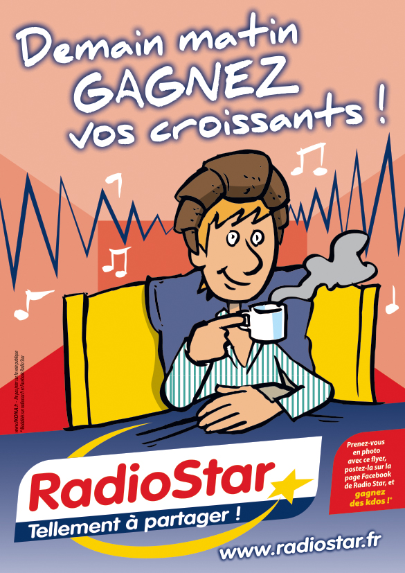 Radio Star flyer A5