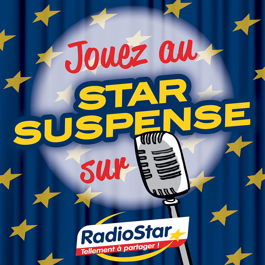 Radio Star visuel BD star suspense