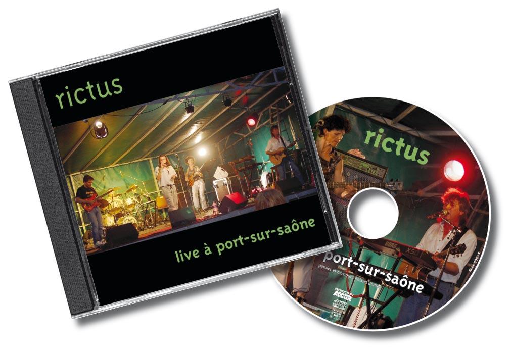 Rictus Live Port Sur Saone CD