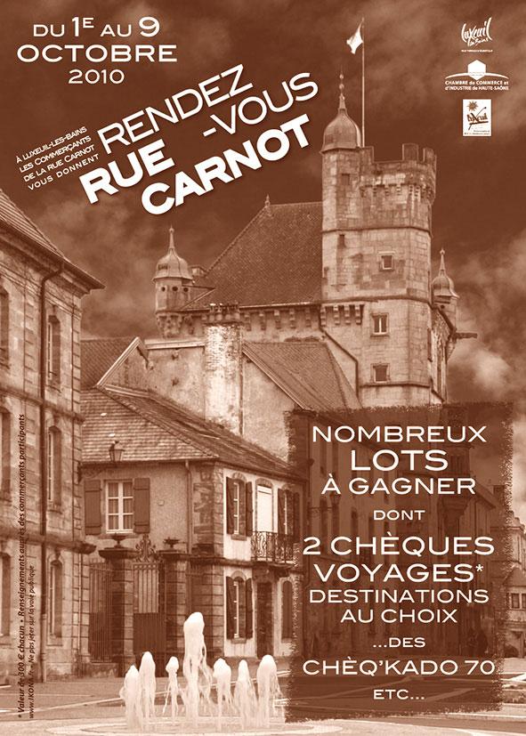 Rue Carnot affiche A3