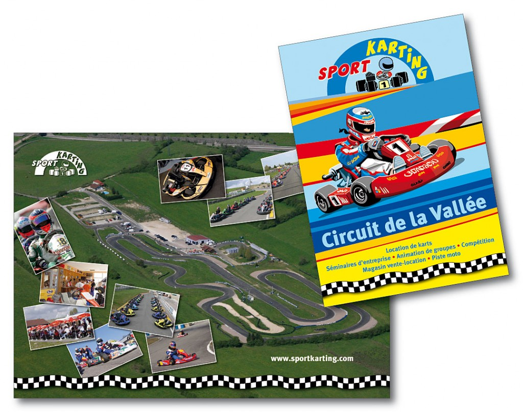 Sport Karting plaquette 4pA4