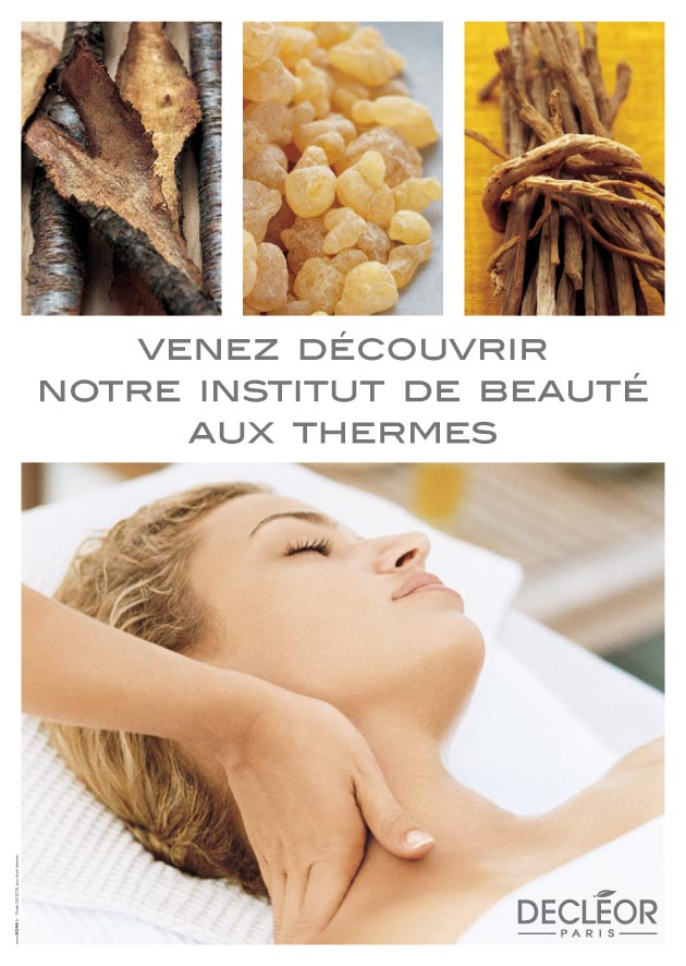 Thermes Luxeuil affiche Decleor
