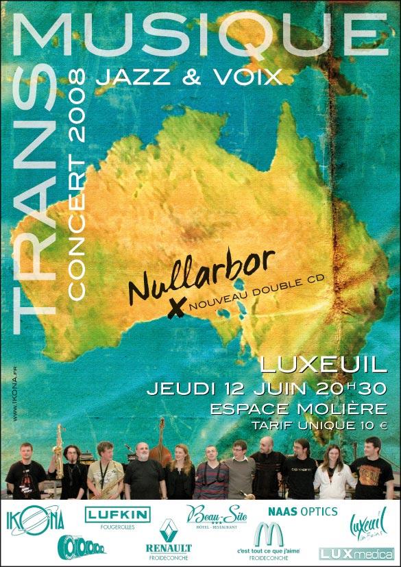 Transmusique Nullarbor affiche