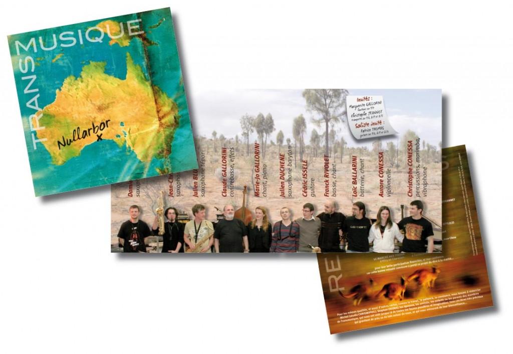Transmusique Nullarbor livret CD 8p