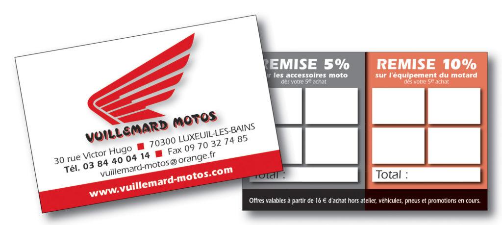 Vuillemard Motos carte fid 85x55