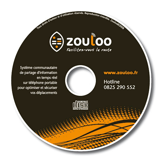 Zouloo marquage CD